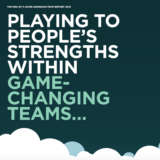 Game-changing teams for transformational change